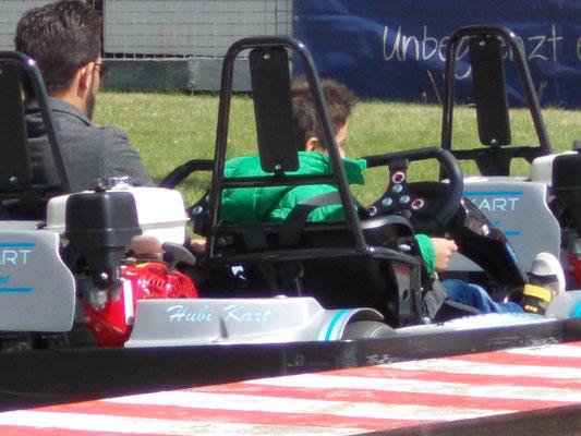 Kartfahren ist der Renner