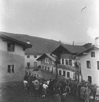 Ortsteil Heilig-Geist- der Steinzenbach hat auch damals schon für Überschwemmungen gesorgt