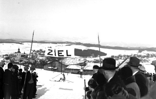 Das Skirennen