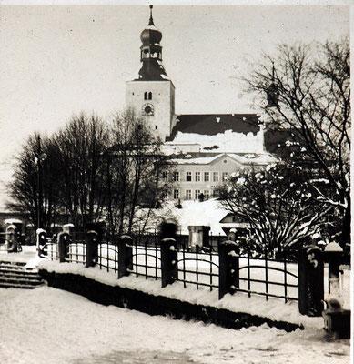 Winterimpressionen hier Ludwigsbrücke