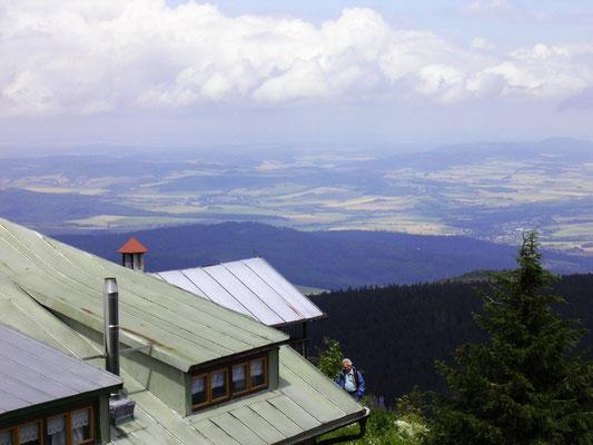 Vom Osser nach Tschechien