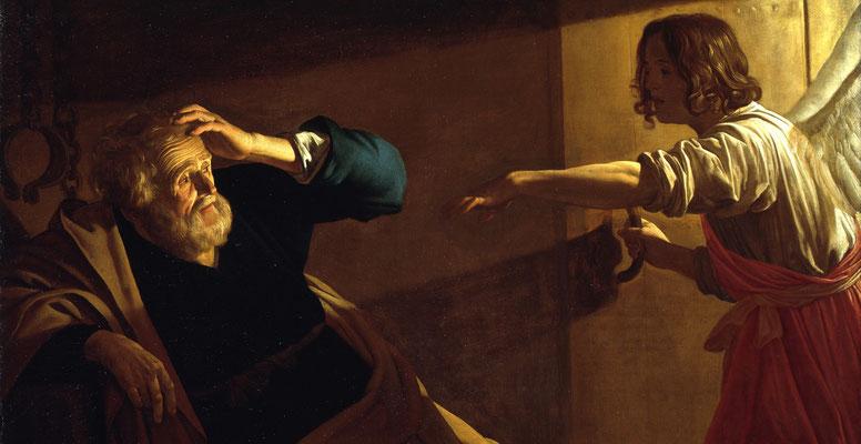 Gerard van Honthorst: De bevrijding van Petrus