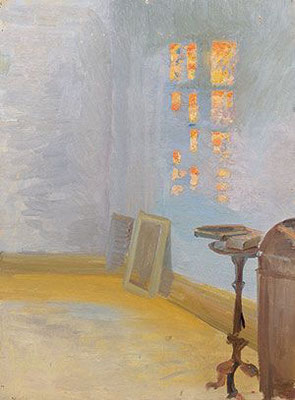 Anna Ancher: Evening sun in the artist's studio