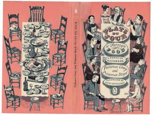 David Gentleman: cover of 'Plats du jour'
