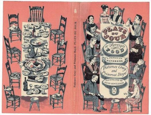 David Gentleman: cover of 'Plats du jour'