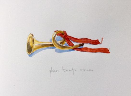 Annette Fienieg: Small glass trumpet