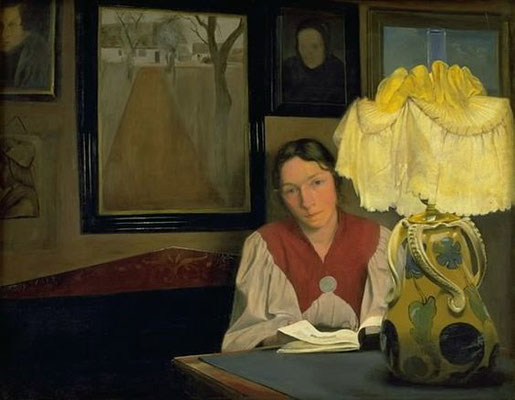 L.A.Ring: Portrait of the artist's wife