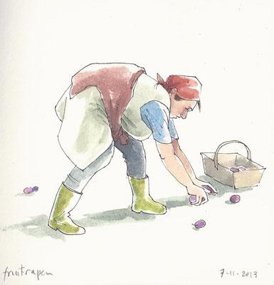Annette Fienieg: de fruit raapster