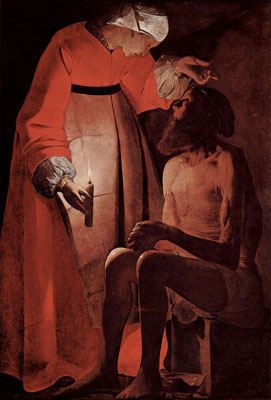 Georges de la Tour: Job mocked by his wife