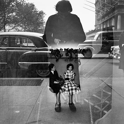 Vivian Maier; self portrait