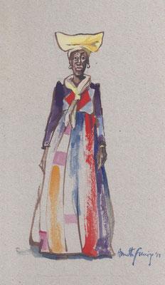 Annette Fienieg: Herero woman