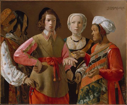 Georges de la Tour: The fortune teller