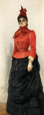 Ilja Repin: Barones Varvara Ikskul von Hildenbrandt