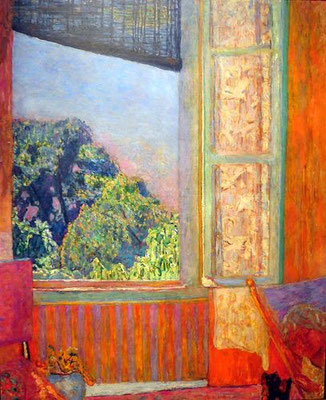 Pierre Bonnard: Open raam