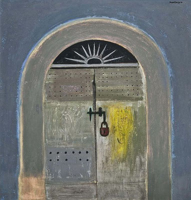 Alberto Morrocco: Orbitello, door