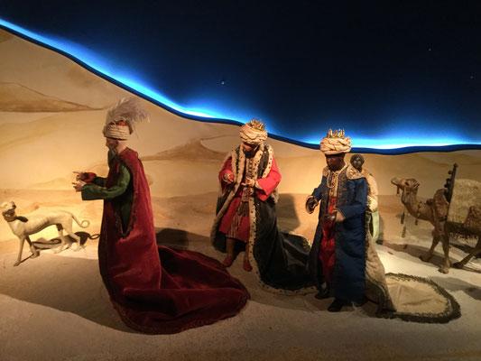De drie koningen in de Napolitaanse stal