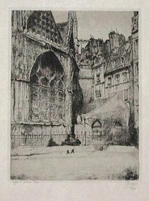 Jules de Bruycker: St Severin, Paris