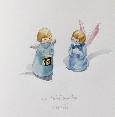 Annette Fienieg: 'Goebel' engeltjes, 15-12-2020