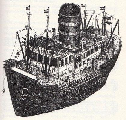 Wim Hofman: schip