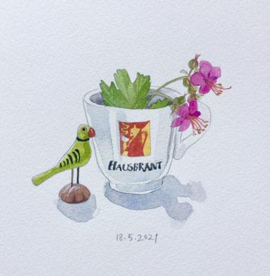 Annette Fienieg: Espresso cup, 18-5-2021