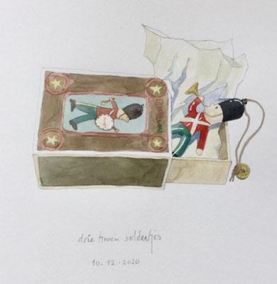 Annette Fienieg: Three tin soldiers