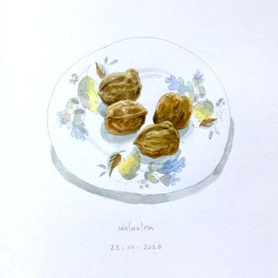 Annette Fienieg: Walnuts 23-10-2020