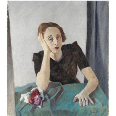 Felice Casorati: Portrait of Ada