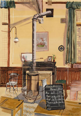 Kenneth Rowntree: The schoolroom