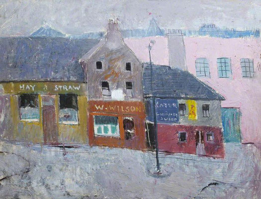 Anne Redpath: Causewayside, Edinburgh