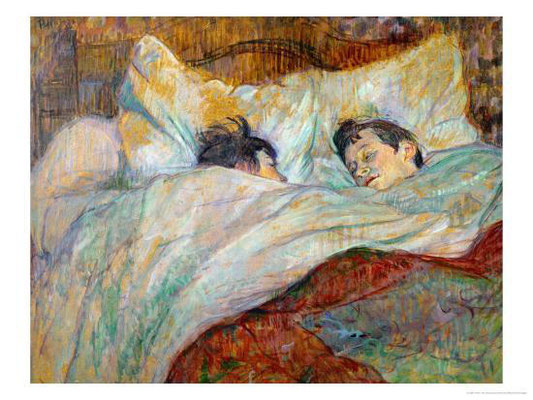 Henri de Toulouse-Lautrec: The bed