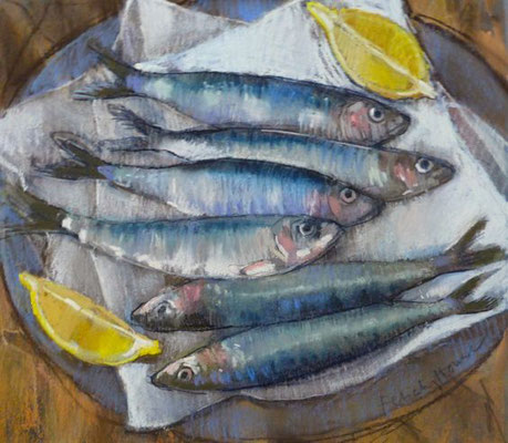 Felicity House: six sardines for supper