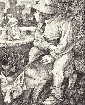 Maurice Sendak: illustratie bij de gebroeders Grimm
