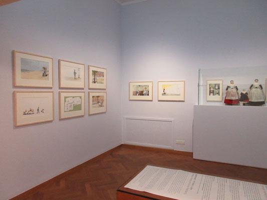het kabinet in het Gemeentemuseum