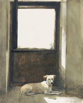 Andrew Wyeth: Watch dog