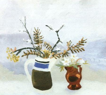 Winifred Nicholson: Blackthorn and Yew