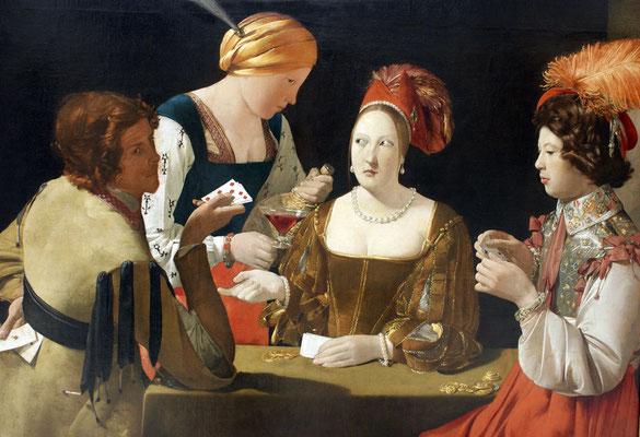 Georges de la Tour: De valsspeler