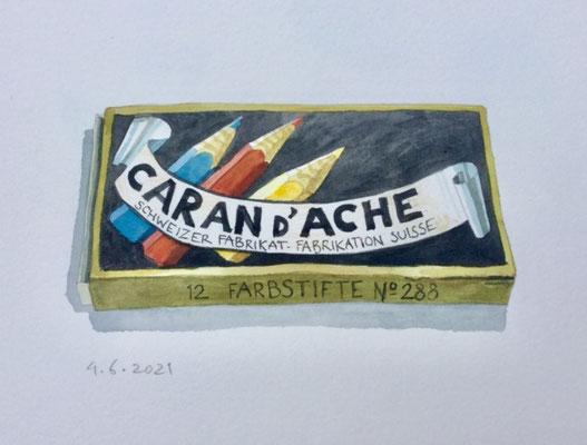 Annette Fienieg: Colored pencils, 4-6-2021