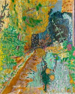 Pierre Bonnard: The garden