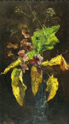 Floris Verster: Anemonen en bladeren