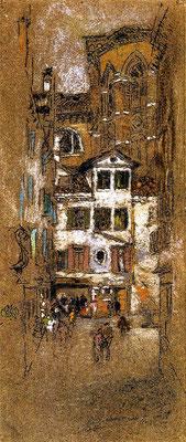 James Abbott McNeill Whistler: Under the Frari