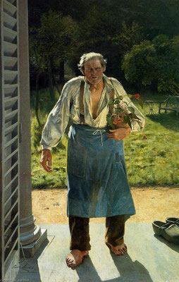Emil Claus: The old gardener