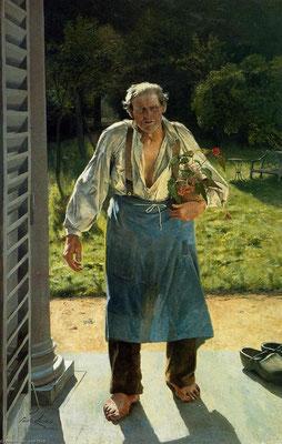 Emil Claus: The old gardener
