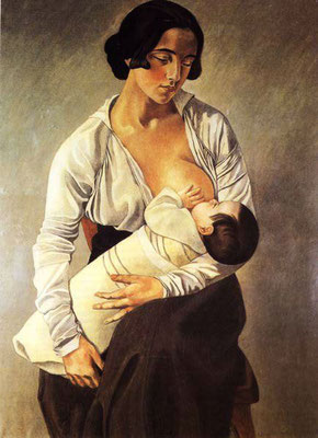Felice Casorati: moeder