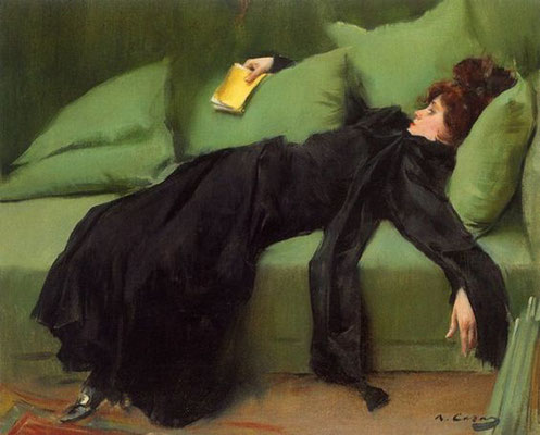 Ramon Casas i Carbó: after the ball