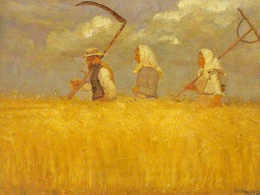 Anna Ancher:Harvest time
