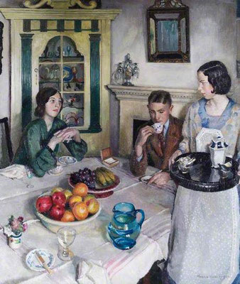 Harold Harvey: The young menage