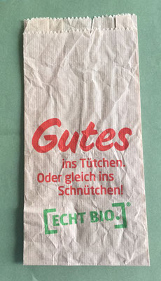 Gutes ins Tütchen (good stuff in the bag)