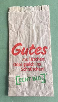 Gutes ins Tütchen (good stuff in the bag)
