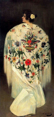 Ramon Casas i Carbó: the kerchief