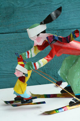 Tilman Michalski: object, skiing lesson